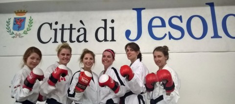 womens team sparring team